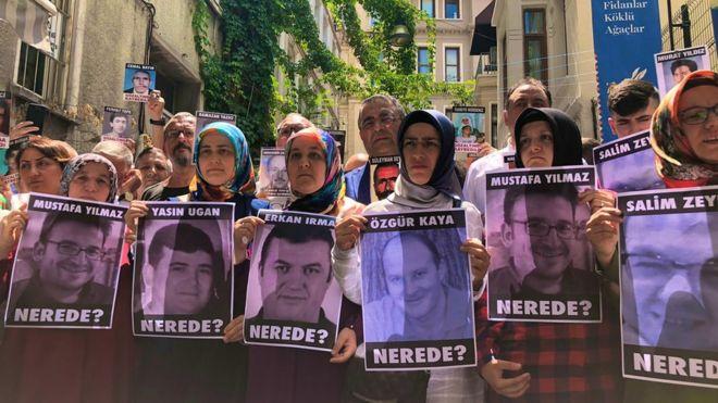Şubat'tan bu yana kayıp 6 KHK'lıdan '4'ünün Ankara Emniyeti'nde olduğu bildirildi