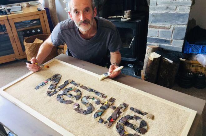 Plastic waste sculptor: 'Why I named and shamed Nestle' - BBC News