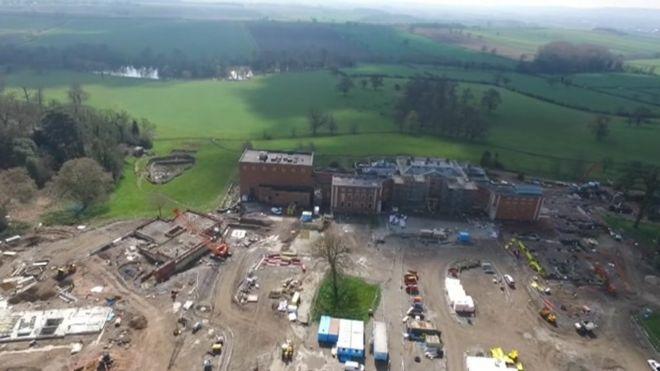 Stanford Hall: £300m military rehab centre work starts - BBC News