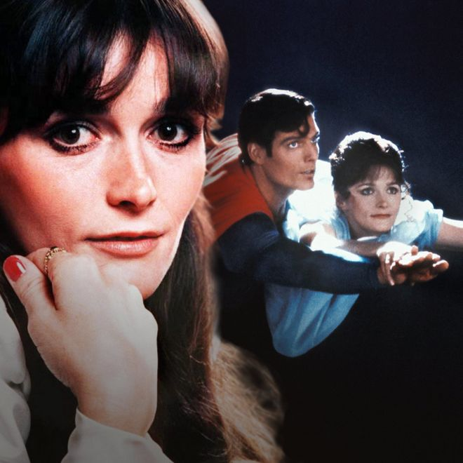 Margot Kidder - with Christopner Reeve