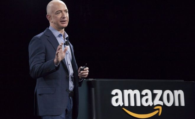 Amazon S Jeff Bezos Beats Bill Gates In New Rich List Bbc News
