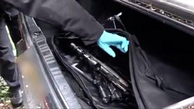 Огнестрельное оружие изъято в рейде