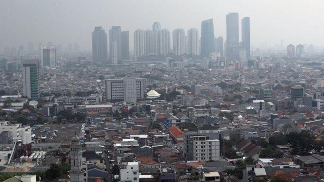 Jakarta cityscape. Image from 5 July