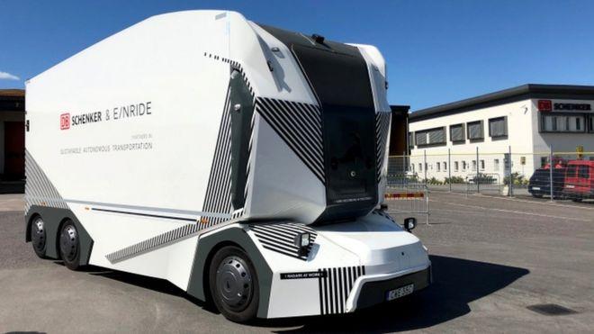 Driverless Lorry Allowed On Public Swedish Roads BBC News