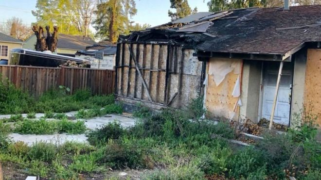 Burned Silicon Valley Homes 800000 Price Tag Raises
