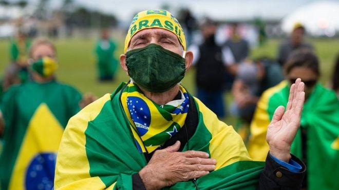 Seguidor de Bolsonaro