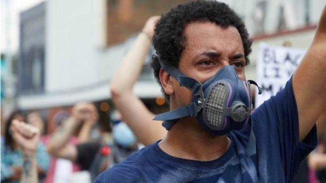 الولايات المتحدة شهدت مظاهرات واسعة ضد العنصرية بعد مقتل جورج فلويد