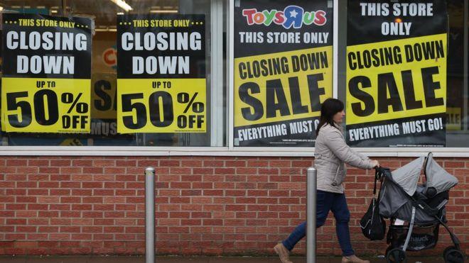 Six reasons behind the High Street crisis - BBC News