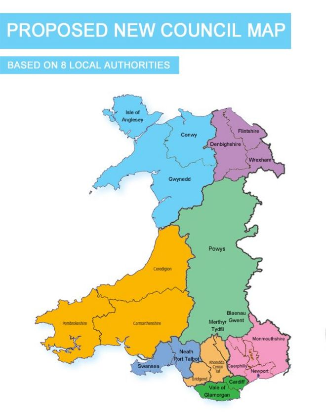 Map Of Uk Local Authorities.Case For Fewer Councils Is Compelling Says Minister Bbc News