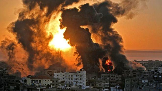 التصعيد في غزة
