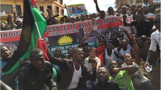 Letter from Africa: Should new calls for Biafra worry Nigerians