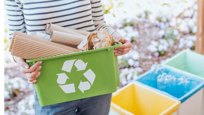 10 things you can't put in your household recycling - BBC News