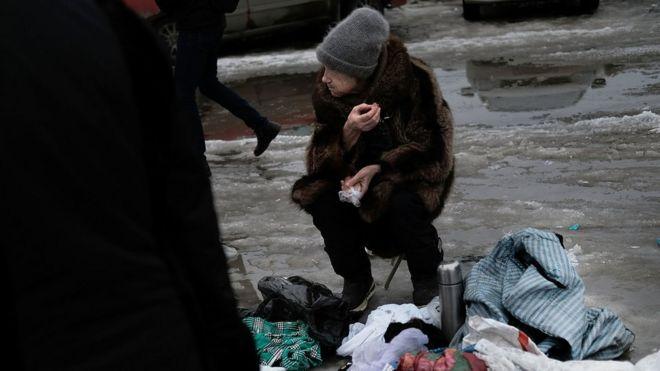 Бедные в России