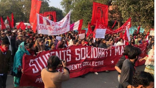 طلبا یکجہتی مارچ