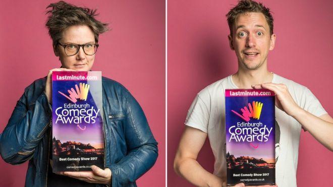 Edinburgh Fringe comedy award shared for first time - BBC News