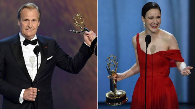 emmy awards 2018 the ceremony s winners in full bbc news