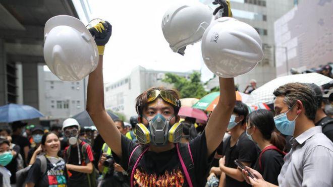 Đài Loan gửi Hong Kong 2.000 mặt nạ phòng độc (Ảnh minh họa)