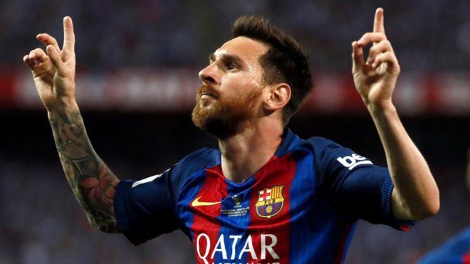 Messi mövsümdə 25-ci qolunu vurdu