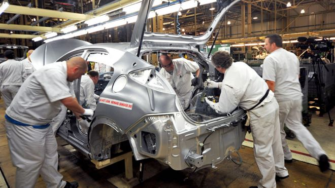 Honda production line