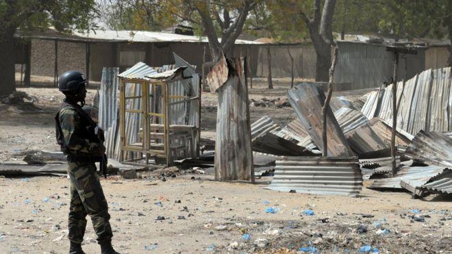 kamerunski vojnik
