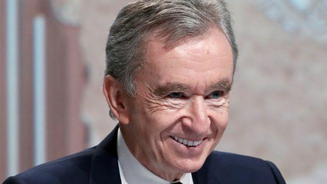 Bernard Arnault, propietario de LVMH