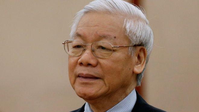 Tổng Bí thư Nguyễn Phú Trọng đang nhấn mạnh chỉnh đốn Đảng Cộng sản