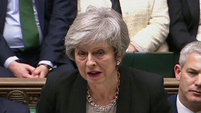 البرلمان البريطاني يدعم خطة تيريزا ماي لتعديل اتفاق بريكست