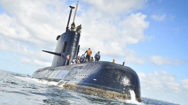 アルゼンチン海軍の潜水艦が消息...