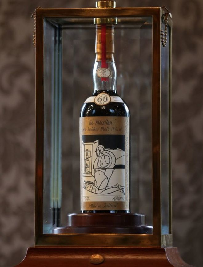 Most Expensive Scotch In The World >> Bottle Of Whisky Sold For World Record 848 000 Bbc News
