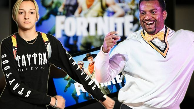 cf29cf444da6 Fortnite sued over The Floss  Can you copyright a dance move  - BBC News