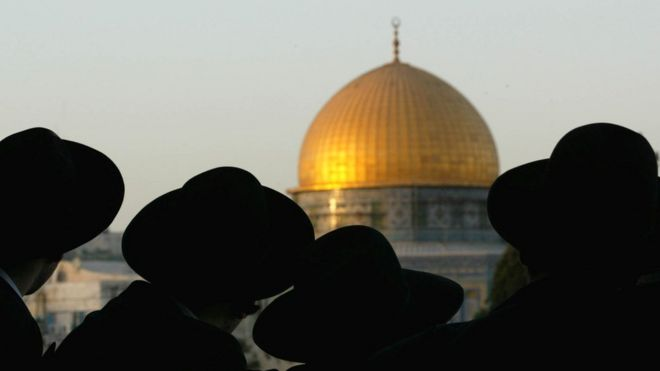 Os israelenses que se opoem à decisão dos EUA de reconhecer Jerusalém como capital de Israel