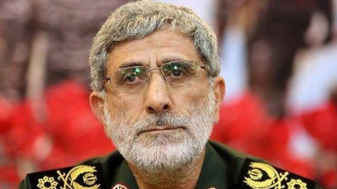 إسماعيل قاآني: نائب سليماني وخليفته في قيادة فيلق القدس الإيراني