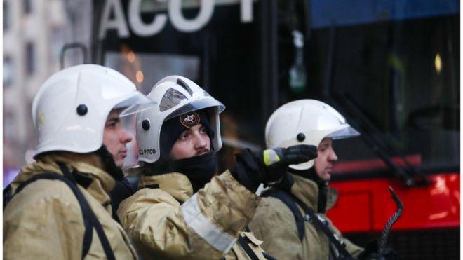 Пожар в коронавирусной больнице в Петербурге: пять пациентов погибли