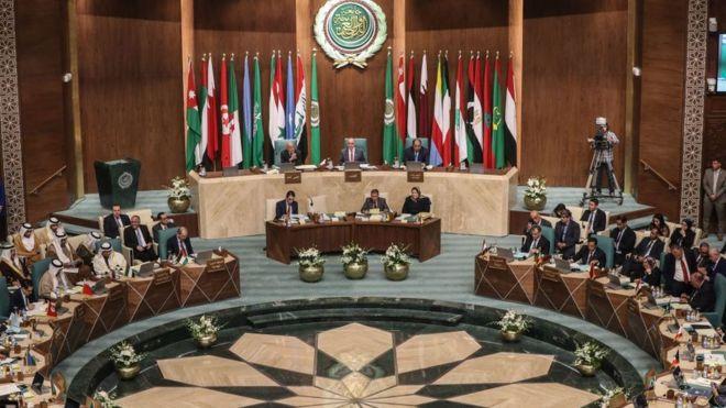 وزراء الخارجية العرب في مقر الجامعة بالقاهرة (أرشيفية)