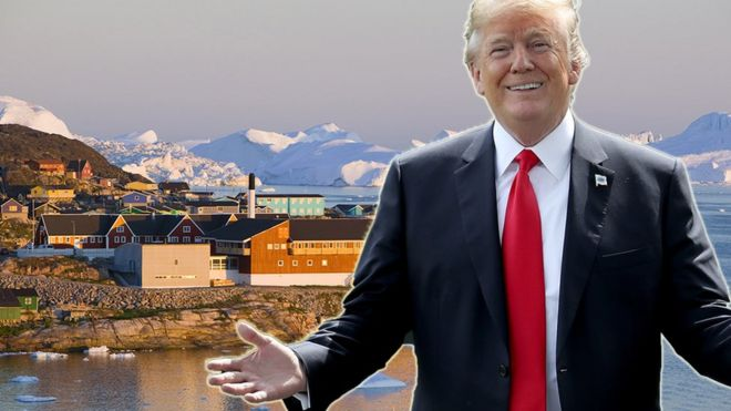 Image result for green land  trump