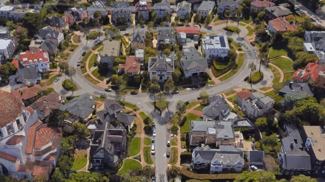 Wealthy San Francisco Residents Lose Private Street Over Tax Bill