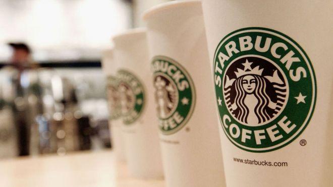 Starbucks coffee cups