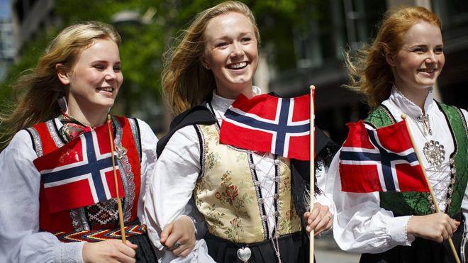 Mujeres noruegas