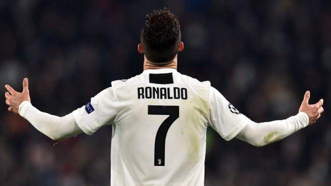 يوفنتوس يفوز على اتليتيكو مدريد بهاتريك رونالدو ويتأهل إلى ربع نهائي دوري الأبطال