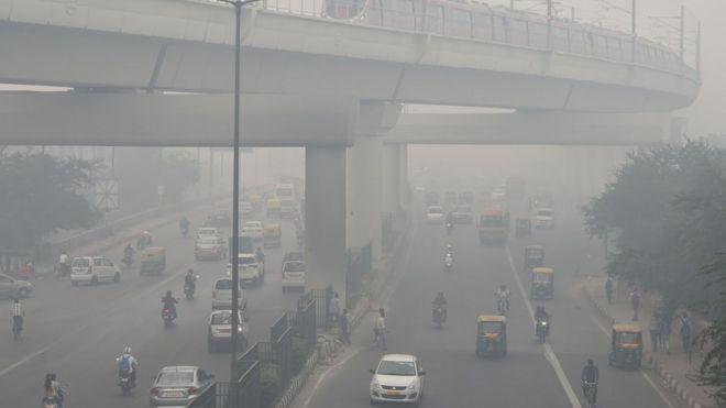"""Résultat de recherche d'images pour """"vehicles, new delhi, pollution, 2018, 2019"""""""