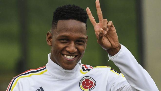 Quién es Yerry Mina, el primer colombiano en ser contratado por el Barcelona