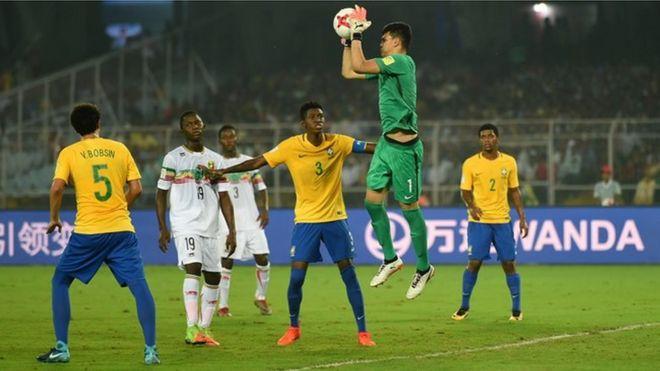 World Cup U 17 Brazil Ta Yi Ta Uku Bayan Da Ta Ci Mali Bbc News Hausa