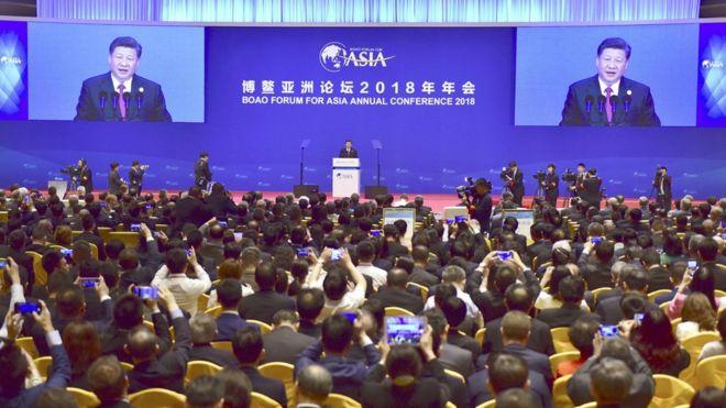 習近平在博鰲亞洲論壇上發表主旨演講