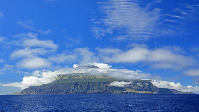 La isla de Tristán de Acuña.