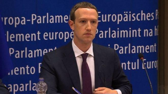 フェイスブックCEOが欧州議会で...