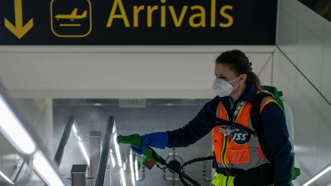 Airport tests may provide 'early travel quarantine release'