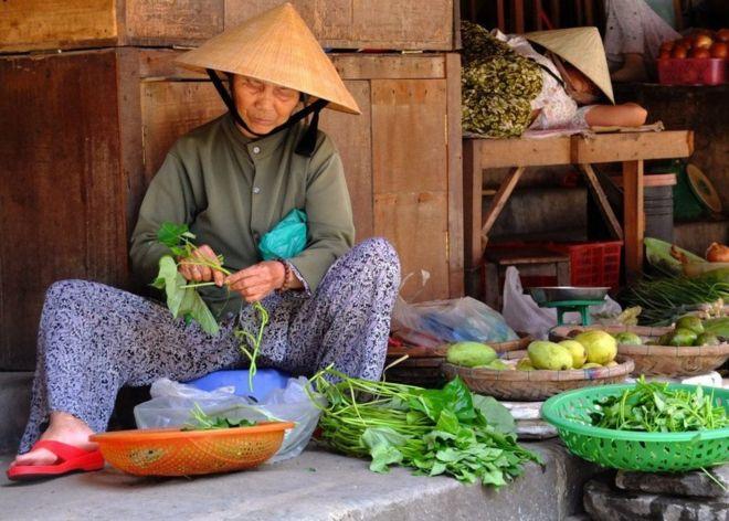 سوق في فيتنام