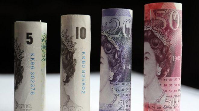 Серия банкнот фунта стерлингов