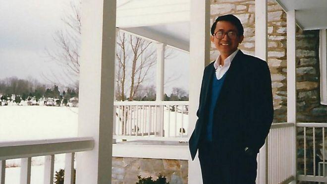 Ông Chang Hsien-yi năm 1988 sau khi bỏ trốn sang Hoa Kỳ