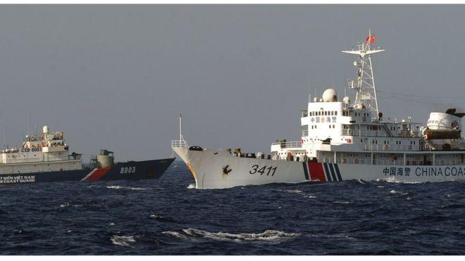 Việt Nam, Trung Quốc, biển Đông, Cá Rồng Đỏ